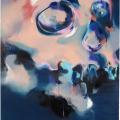 Ohne Titel, 2015, Öl auf Leinwand, 220 x 160 cm,