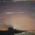 Heike Negenborn, Aragón 10, 2011, Acryl auf Holz, 44 x 52 cm
