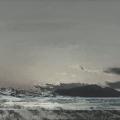 Heike Negenborn, Sky-Scape 11, 2013, Acryl auf Leinwand, 105 x 125 cm