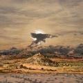 Heike Negenborn, Sky-Scape 7, 2013, Acryl auf Leinwand, 105 x 125 cm