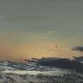 Heike Negenborn, Sky-Scape 9, 2013, Acryl auf Leinwand, 105 x 125 cm