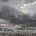 Negenborn, Heike, Sky-Scape 10, 2014, Acryl auf Leinwand, 105 x 125 cm